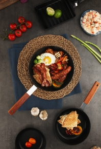 Black Edge IH Fry pan & Wok 사진